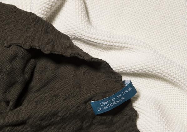 Plaid 100% merino wool